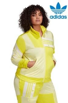 חולצת ספורט למידות גדולות של adidas Originals דגם Cathari בצהוב