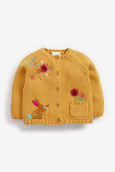 Floral Embroidered Cardigan (0mths-2yrs)