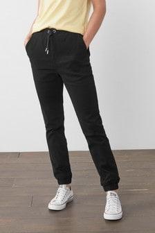 Хлопковые спортивные брюки