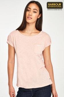 Barbour® International Apex T-Shirt mit Tasche und Logo