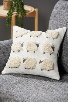 Tufted Sheep Cushion