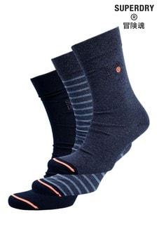 Superdry City Sock Three Pack