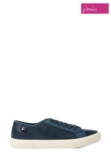 Pantofi din pânză cu șiret Joules Coast albaștri