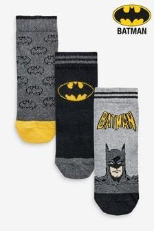 Batman®-Socken mit hohem Baumwollanteil, 3er-Pack (Jünger)