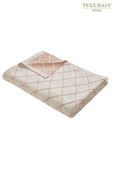 Tess Daly Diamond Knit Throw