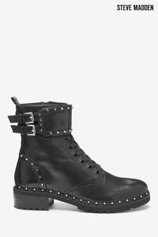 Steve Madden Black Birdy Boots