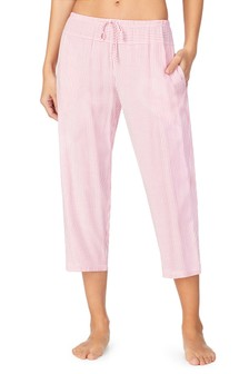 מכנסי קאפרי של Donna Karan בצבע אדום