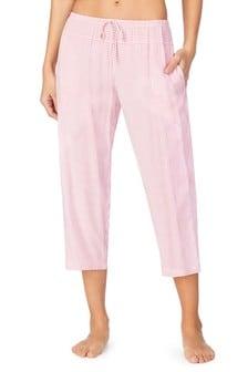 Donna Karan Red Capri Pants