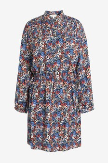 Pin Tuck Dress