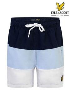 Lyle & Scott Wide Stripe Swim Shorts