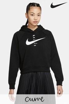 Nike Curve Kapuzensweatshirt mit Swoosh-Logo