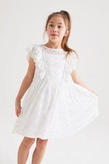 Kleid aus Spitze (3-16yrs)