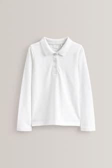 5 Pack Long Sleeve Polo Shirts (3-16yrs)