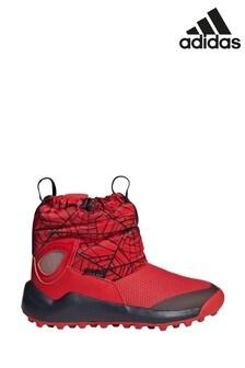 Красные кроссовки для подростков adidas ActiveSnow