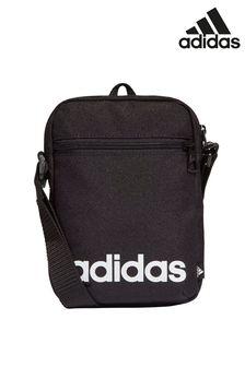 adidas黑色線性商品包