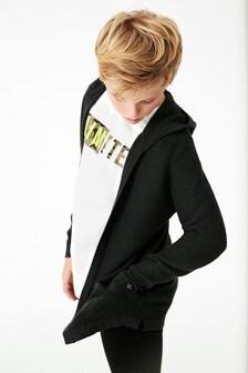 Кардиган и футболка (3-16 лет)