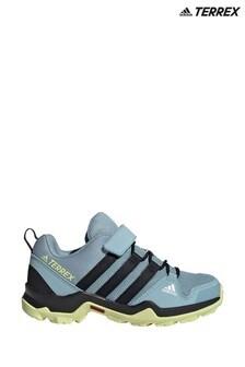 נעליספורטשלadidasדגםTerrex Trail AX2Rבצבעכחול/ירוקלילדים ונוער