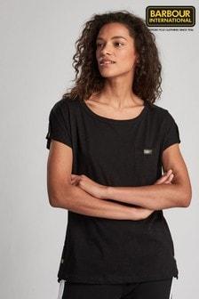 חולצת טי עם לוגו של Barbour® International דגם Apex