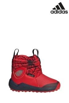 Красные кроссовки для малышей adidas ActiveSnow