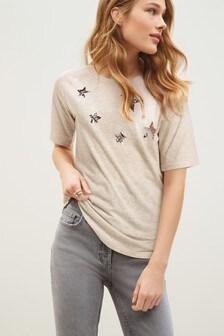 Longline Raglan T-Shirt