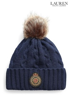 כובע גרב של Lauren Ralph Lauren® דגם Crest