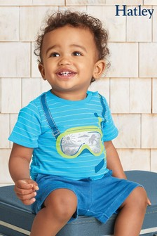 Hatley Tropical Snorkel Baby Graphic T-Shirt