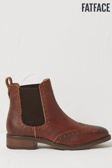 FatFace Brown Bude Chelsea Boots