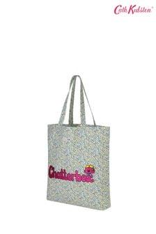 """Кремовая сумка с надписью """"Chatterbox""""Cath Kidston"""
