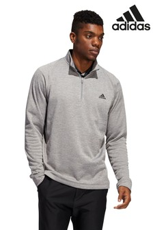 adidas Golf Midweight Half Zip Sweat Top