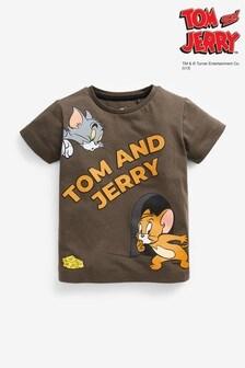 חולצת טי טום וג'רי (3 חודשים עד גיל 8)