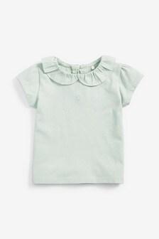 Tričko s krátkymi rukávmi a golierom (3 mes. – 7 rok.)