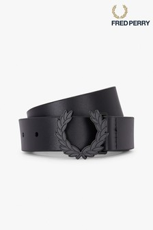 Fred Perry Laurel Wreath Leather Belt