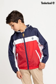 Timberland® Red/White Zip Jacket