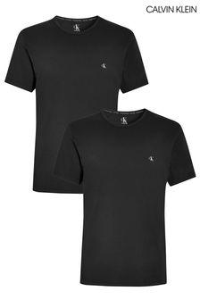 מארז שתי חולצות טי של Calvin Klein בשחור