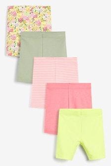 5 Pack Shorts (3mths-7yrs)