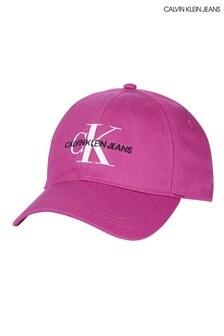 Calvin Klein Jeans Pink Monogram Cap