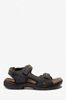 Кожаные спортивные сандалии