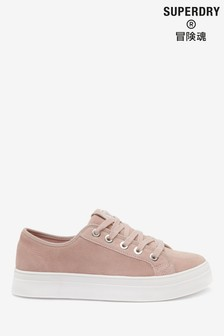 Superdry Pink Flat Trainers