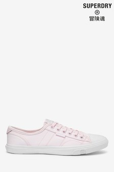 Superdry Soft Pink Low Profile Trainers