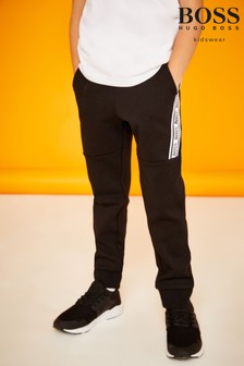 BOSS Black Tape Logo Jogging Bottoms
