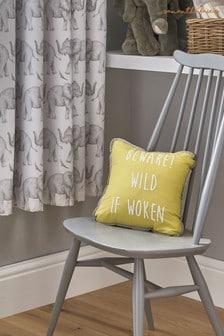 Sam Faiers Little Knightley's White Wild If Woken Cushion