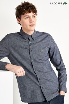Lacoste® Jacquard Long Sleeve Shirt
