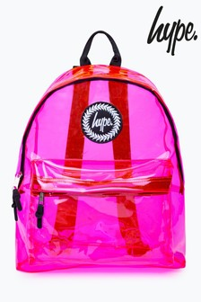 Hype. Clear Print Backpack