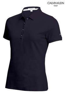 Calvin Klein Golf Performance Cotton Pique Poloshirt