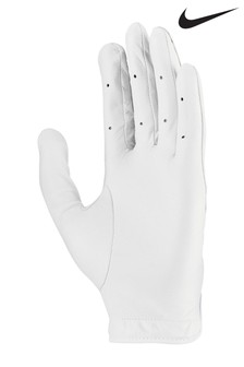 Nike Mens White LH Tour Golf Glove