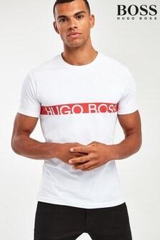 BOSS Chest Stripe Logo UV T-Shirt