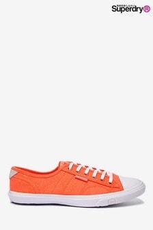 حذاء رياضي Low Profile برتقالي من Superdry