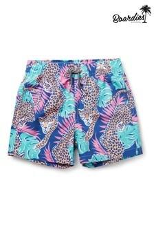 מכנסי שחייה קצרים באורך בינוני של Boardies Boys דגם Paradise