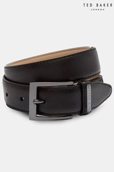 Ted Baker Lizwiz Leather Keeper Plate Belt