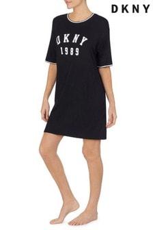 DKNY短袖連身睡衣